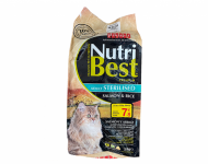Nutri Best Adult Sterilised Salmon Rice Gato
